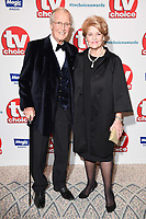 LONDON, UK. September 10, 2018: Nicholas Parsons at the TV Choice Awards 2018 at the Dorchester Hotel, London.<br /> Picture: Steve Vas/Featureflash