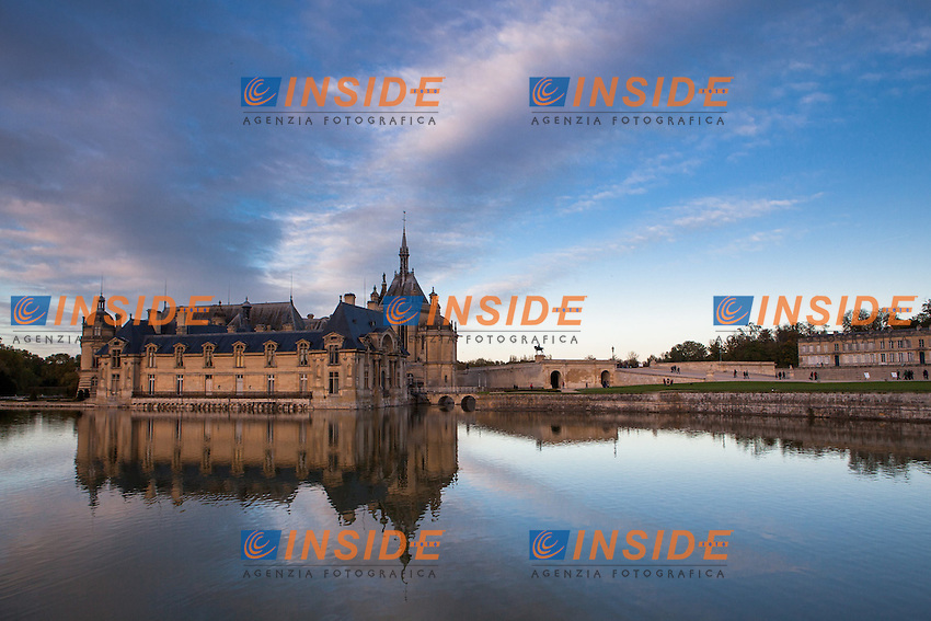 Castello di Chantilly.Chantilly 4/11/2012.Foto Bruno Beucher / Panoramic / Insidefoto.ITALY ONLY