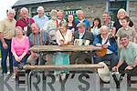 MUSICIAN EXTRAORDINAIRE: Squeeze Box Musician Jack Doyle, Camp enjoying his 80Th Birthday with family, friends and musicians for all over at Mike O'Neill's Public House in Camp on Sunday evening seated l-r: Eileen O'Grady, Jimmy Doyle, Rose Sanders, Jack Doyle, Crohn O'Grady and Peter (Sligo) Tighe. Back l-r: Eugene McGarth, Michael Dorgan, Milo O'Brien, Gordon Sanders, Tom Flahive, Tracey O'Neill, Tony and Pat Owen and Brendan, Rose and Fergus McCarthy.   Copyright Kerry's Eye 2008