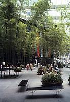 "New York City: IBM Building--""Park"" by Edward Larabee Barnes."