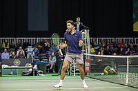 Rotterdam, Netherlands, 10 februari, 2019, Ahoy, Tennis, ABNAMROWTT, ARENDS (NED)+PEL (NED) Photo: Henk Koster/tennisimages.com