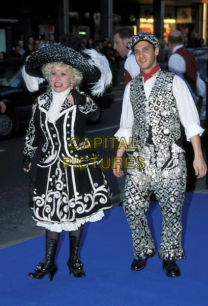 BARBARA WINDSOR.Ref: 4791/0604G .www.capitalpictures.com.sales@capitalpictures.com.© Capital Pictures.fancy dress costume, pearly king & queen
