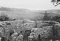 Iraq 1955 <br /> In the village of Barzan , house in ruins<br /> Irak 1955 <br /> Maison en ruines dans le village de Barzan