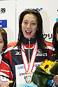 Aya Terakawa (JPN), .MAY 25, 2012 - Swimming : .JAPAN OPEN 2012 .Women's 100m Backstroke Victory Ceremony .at Tatsumi International Swimming Pool, Tokyo, Japan. .(Photo by YUTAKA/AFLO SPORT) [1040]