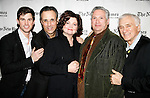 Matt Cavenaugh, John Bucchino, Faith Prince, Harvey Fierstein and Dick Latessa<br />attending HARVEY & FAMILY: A  Conversation with Harvey Fierstein at the TimesCenter, New York City.<br />April 1, 2008