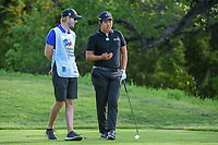 Byeong Hun An (KOR) tosses a ball while he waits to tee off on 13 during day 2 of the Valero Texas Open, at the TPC San Antonio Oaks Course, San Antonio, Texas, USA. 4/5/2019.<br /> Picture: Golffile | Ken Murray<br /> <br /> <br /> All photo usage must carry mandatory copyright credit (&copy; Golffile | Ken Murray)