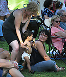 A candid moment taken on the third-and-final day of the 4th Annual Summer Hoot Festival, held at the Ashokan Center in Olivebridge, NY, on Sunday, August 28, 2016. Photo by Jim Peppler; Copyright Jim Peppler 2016.