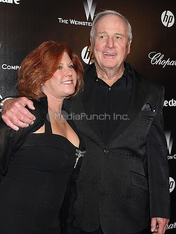 BEVERLY HILLS, CA - JANUARY 15: Producer Jerry Weintraub and Susie Ekins arrive at The Weinstein Company 2012 Golden Globe After Party at The Beverly Hilton hotel on January 15, 2012 in Beverly Hills, California. Credit: mpiPG/MediaPunch