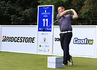 Paul Shields (SCO) on the 11th tee during Round 1 of the Northern Ireland Open at Galgorm Castle Golf Club, Ballymena Co. Antrim. 10/08/2017<br /> Picture: Golffile | Thos Caffrey<br /> <br /> <br /> All photo usage must carry mandatory copyright credit     (&copy; Golffile | Thos Caffrey)