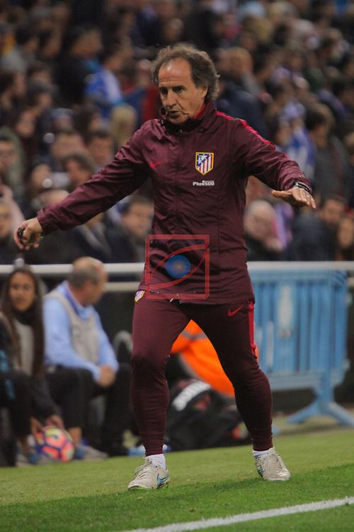 League Santander 2016/2017. Game: 33.<br /> RCD Espanyol vs Atletico de Madrid: 0-1.<br /> Oscar Ortega.
