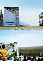 House of Ideas, Modula Prep Library in Camino Verde, Tijuana, B.C. Mexico. Date of work: 2012-2013.