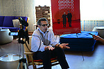 MIAMI BEACH, FL - MARCH 10: Actor and director John Turturro speak to media during Miami International Film Festival 2014 press junket for 'Fading Gigolo' at The Standard on March 10, 2014 in Miami Beach, Florida. (Photo by Johnny Louis/jlnphotography.com)