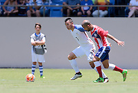 Bayamón, Puerto Rico - May 22, 2016: The USMNT take a 2-0 lead over Puerto Rico in first half action during a warm up friendly match at Juan Ramón Loubriel Stadium.