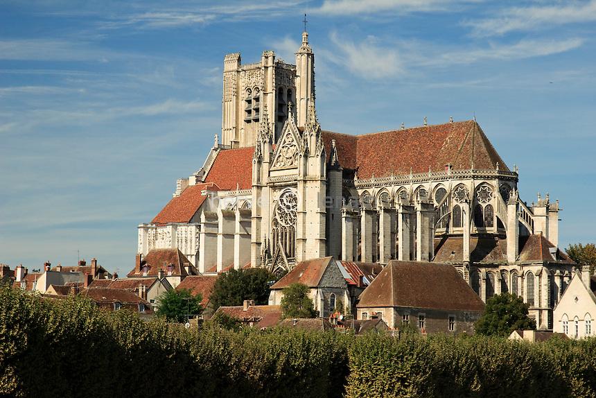 France, Yonne (89), Auxerre, la cathédrale Saint-Etienne d'Auxerre // France, Yonne, Auxerre, the Cathedral St Etienne of Auxerre