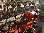 """Spider-man red carpet, view from above at the premiere of Sony Pictures' """"Spider-Man Far From Home"""" held at TCL Chinese Theatre on June 26, 2019 in Hollywood, California"""
