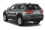 Car pictures of rear three quarter view of a 2015 Jeep Grand Cherokee Laredo 5 Door SUV angular rear
