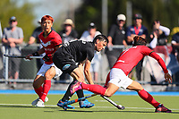Simon Child during the Olympic Qualifier Hockey match between the Blacksticks Men and Korea at TET Multisport Centre in Stratford, New Zealand on Saturday, 2 November 2019. Photo: Simon Watts / www.bwmedia.co.nz