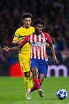 Thomas Partey of Atletico de Madrid during the match between Atletico de Madrid and Borussia Dortmund of UEFA Champions League 2018-2019, group A, date 4 played at the Wanda Metropolitano Stadium. Madrid, Spain, 6 NOV 2018.