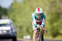 Vasil Kiryienka (BLR/SKY) on his way becoming a World Champion<br /> <br /> Elite Men TT<br /> UCI Road World Championships / Richmond 2015