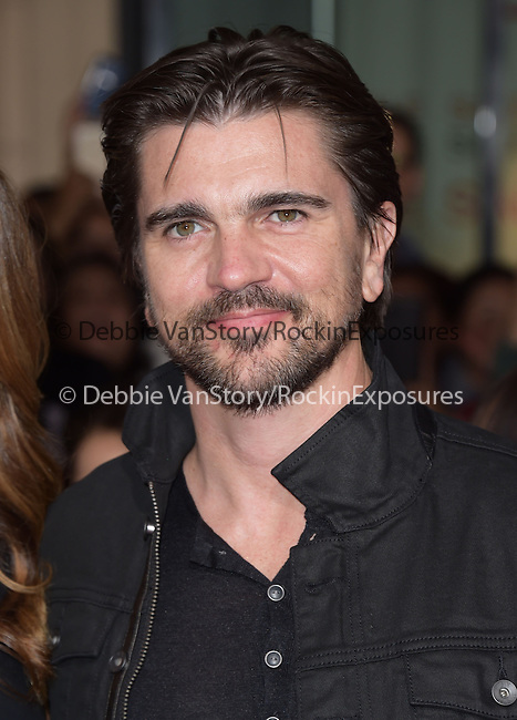 Juanes attend The Disney Premiere of McFarland, USA held at The El Capitan Theater  in Hollywood, California on February 09,2015                                                                               © 2015 Hollywood Press Agency