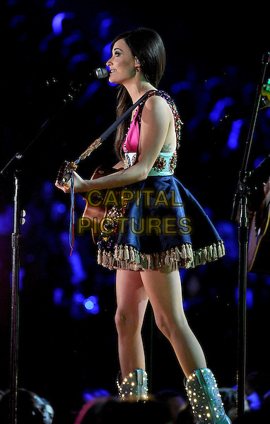 LOS ANGELES, CA - JANUARY 26 : Kacey Musgraves performs onstage at The 56th Annual GRAMMY Awards at Staples Center on January 26, 2014 in Los Angeles, California.<br /> CAP/MPI/PG<br /> &copy;PGFMicelotta/MediaPunch/Capital Pictures