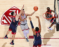 Stanford Basketball M vs Arizona, January 20, 2018