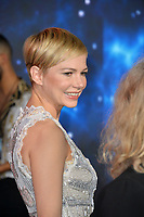 "LOS ANGELES, CA. October 01, 2018: Michelle Williams at the world premiere for ""Venom"" at the Regency Village Theatre.<br /> Picture: Paul Smith/Featureflash"