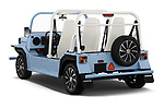 Car pictures of rear three quarter view of a 2019 Moke America eMoke Base 5 Door SUV angular rear
