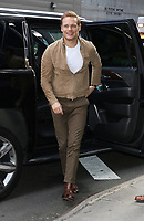 February 12, 2020 Sam Heughan at  Strahan, Sara, Keke to talk about new season of Starz's Outlander in NewYork.February 12, 2020. <br /> CAP/MPI/RW<br /> ©RW/MPI/Capital Pictures
