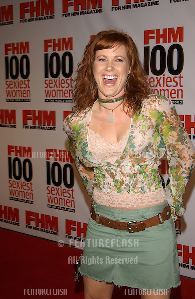 Actress ELISA DONOVAN at party in Hollywood for FHM magazine to celebrate its 8th annual 100 Sexiest Women in the World special issue..June 5, 2003