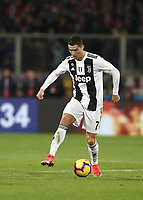Calcio, Serie A: Fiorentina - Juventus, stadio Artemio Franchi Firenze 1 dicembre 2018.<br /> Juventus' Cristiano Ronaldo in action during the Italian Serie A football match between Fiorentina and Juventus at Florence's Artemio Franchi stadium, December 1, 2018.<br /> UPDATE IMAGES PRESS/Isabella Bonotto