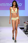 Model walks runway in lingerie from Commando, during the Lingerie Fashion Night - Romancing The Runway show, by CurvExpo and Lycra on February 23, 2015.