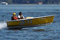 "Dick Daly, JS-77 ""Justa Fishn Bote"" (Jersey Speed Skiff)"