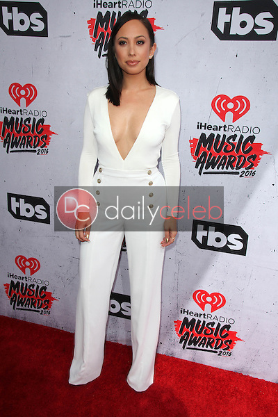 Cheryl Burke<br /> at the iHeart Radio Music Awards 2016 Arrivals, The Forum, Inglewood, CA 04-03-16<br /> David Edwards/DailyCeleb.com 818-249-4998
