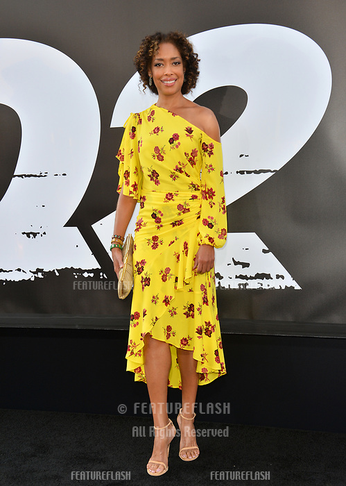 Gina Torres at the premiere for &quot;The Equalizer 2&quot; at the TCL Chinese Theatre, Los Angeles, USA 17 July 2018<br /> Picture: Paul Smith/Featureflash/SilverHub 0208 004 5359 sales@silverhubmedia.com