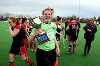 Canterbury Women's Hockey final match between <br /> Harewood and HSOB at Marist Park in Christchurch, New Zealand on Saturday 26 August 2017. Martin Hunter / lintottphoto.co.nz