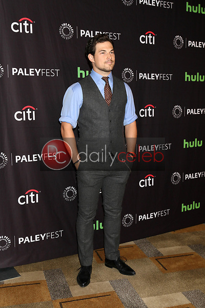 "Giacomo Gianniotti<br /> at ""Grey's Anatomy"" at the 34th Annual PaleyFest, Dolby Theater, Los Angeles, CA 03-19-17<br /> David Edwards/DailyCeleb.com 818-249-4998"