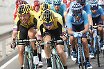 Tony Martin (GER) and Team Jumbo-Visma keep the pace high during Stage 3 of La Vuelta 2019 running 188km from Ibi. Ciudad del Juguete to Alicante, Spain. 26th August 2019.<br /> Picture: Luis Angel Gomez/Photogomezsport | Cyclefile<br /> <br /> All photos usage must carry mandatory copyright credit (© Cyclefile | Luis Angel Gomez/Photogomezsport)