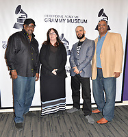 "LOS ANGELES, CA- FEB. 08: Alonzo ""Lonzo"" Williams, Katherine Regan, Ben Ortiz, Eric Robinson at the From Compton to Cornell: Preserving The History of Hip Hop In the Hub City at the Grammy Museum in Los Angeles, California on February 8, 2018 Credit: Koi Sojer/ Snap'N U Photos/Media Punch"