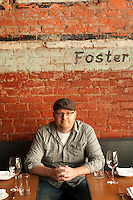 Staple and Fancy's, Ethan Stowell creator of 5 of Seattle's most interesting restaurants is creating a buzz with his homespun ideas and feel for a great atmosphere.