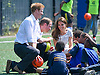 """CATHERINE, DUCHESS OF CAMBRIDGE, PRINCE WILLIAM AND PRINCE HARRY.attend the sports-themed event, to launch the Coach Core programme, a partnership between their Foundation and Greenhouse at Bacon's College, South London_19/07/2012.Mandatory credit photo: ©Dias/NEWSPIX INTERNATIONAL..(Failure to credit will incur a surcharge of 100% of reproduction fees)..                **ALL FEES PAYABLE TO: """"NEWSPIX INTERNATIONAL""""**..IMMEDIATE CONFIRMATION OF USAGE REQUIRED:.Newspix International, 31 Chinnery Hill, Bishop's Stortford, ENGLAND CM23 3PS.Tel:+441279 324672  ; Fax: +441279656877.Mobile:  07775681153.e-mail: info@newspixinternational.co.uk"""