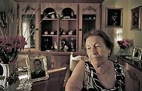Emilia, mother of Agostino Catalano, one of the police bodyguard of the judge Paolo Borsellino, killed in the &quot;D'Amelio massacre&quot;.<br /> <br /> Emilia Catalano, madre dell'agente di scorta Agostino morto insieme a Paolo Borsellino nella strage di via D'amelio.