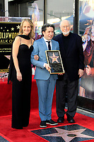 LOS ANGELES - JAN 22:  Helen Hunt, Gustavo Dudamel, John Williams at the Gustavo Dudamel Star Ceremony on the Hollywood Walk of Fame on January 22, 2019 in Los Angeles, CA