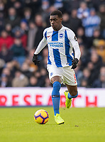Brighton & Hove Albion's Yves Bissouma <br /> <br /> Photographer David Horton/CameraSport<br /> <br /> The Premier League - Brighton and Hove Albion v Watford - Saturday 2nd February 2019 - The Amex Stadium - Brighton<br /> <br /> World Copyright © 2019 CameraSport. All rights reserved. 43 Linden Ave. Countesthorpe. Leicester. England. LE8 5PG - Tel: +44 (0) 116 277 4147 - admin@camerasport.com - www.camerasport.com