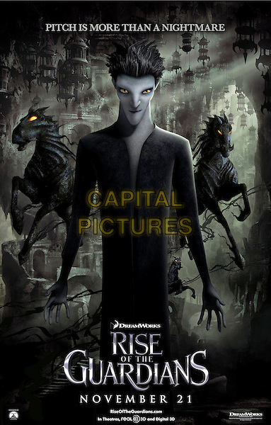 POSTER ART - PITCH.in Rise of the Guardians (2012) .*Filmstill - Editorial Use Only*.CAP/FB.Supplied by Capital Pictures.