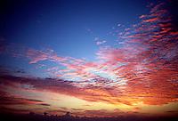Sky at sunrise.