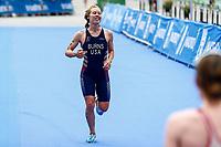 Chelsea Burns of Great Britain during the 2017 Madrid ITU Triathlon World Cup in Madrid, May 28, 2017. Spain.. (ALTERPHOTOS/Rodrigo Jimenez) /NortePhoto.com