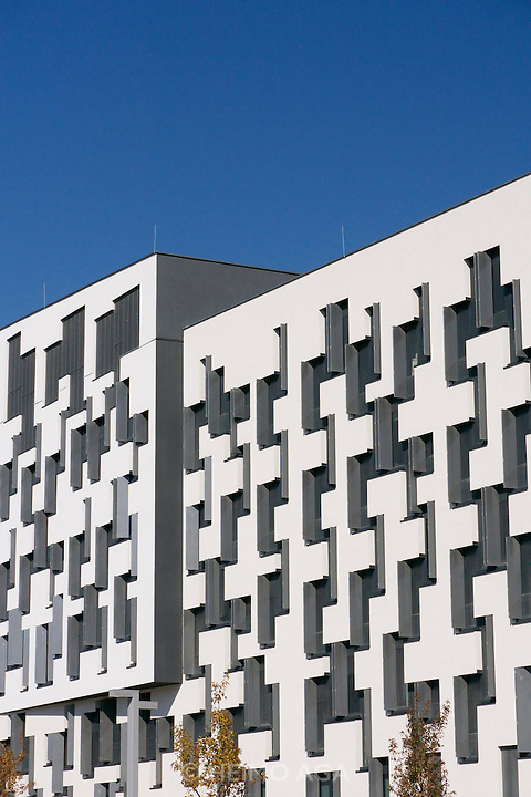 Vienna, Austria. The new WU Campus (University of Economics).<br /> D4 (Departments 4) by Estudio Carme Pinos, Barcelona.
