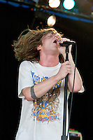 Cage The Elephant performing at the 2012 Melbourne Big Day Out, 29 January 2012