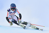 February 17, 2017: Simon EFIMOV (RUS) competing in the men's giant slalom event at the FIS Alpine World Ski Championships at St Moritz, Switzerland. Photo Sydney Low